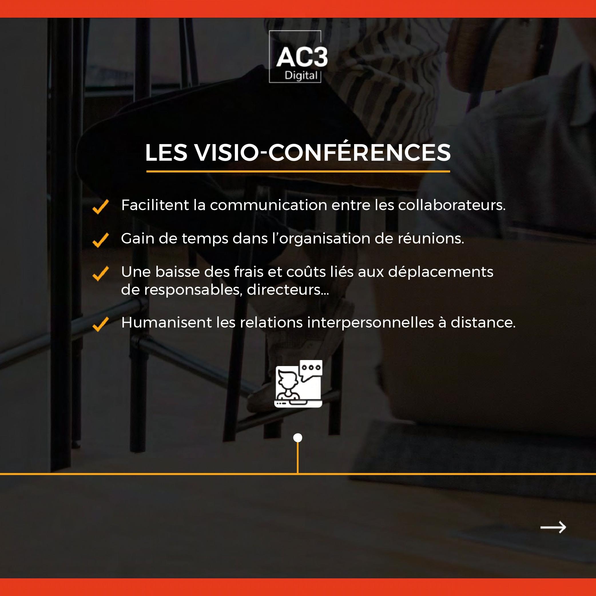 Les visio-conférences