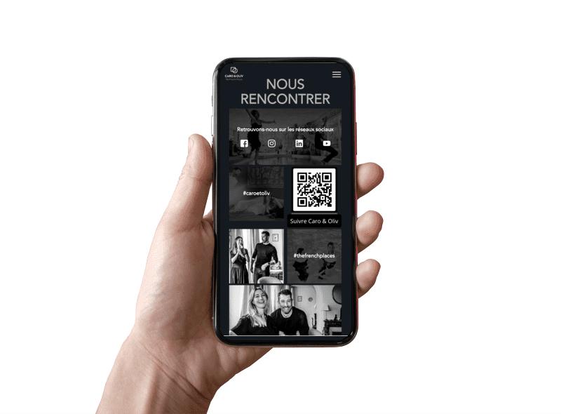 website client mobile